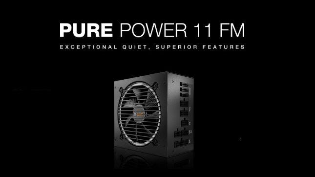 Be quiet! Pure power 11 FM